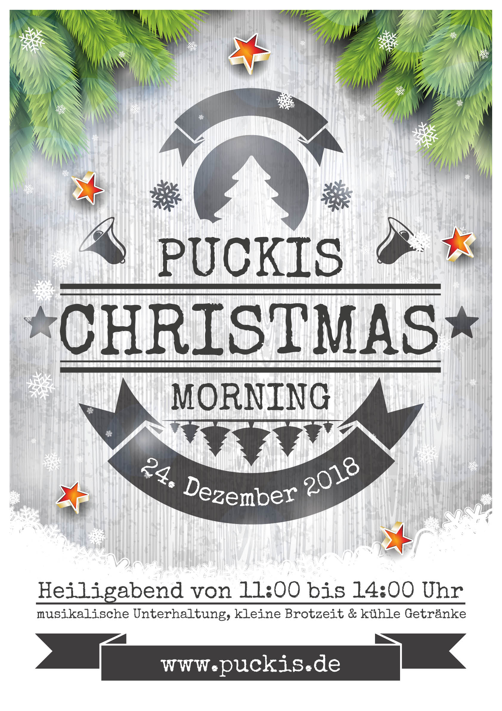 Puckis Christmas morning